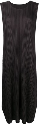Pleats Please Issey Miyake Mirco Pleat Midi Dress