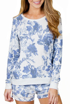 PJ Salvage Floral Print Sweater