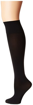 Wolford Individual 50 Leg Support Knee-Highs (Black) Women's Knee High Socks Shoes