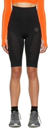adidas by Stella McCartney Black Pure Performance Cycling Shorts