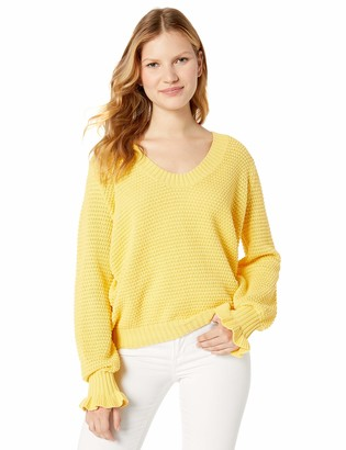 The Fifth Label Women's Calendar Scoop Neck Bell Sleeve Knit Sweater