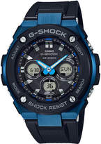 G-Shock Men's Solar Analog-Digital Black Resin Strap Watch 49mm