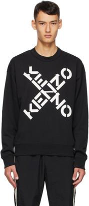Kenzo Black Sport Sweater
