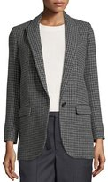 Etoile Isabel Marant Ice Check One-Button Blazer
