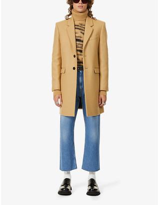 Saint Laurent Manteau double-breasted wool coat