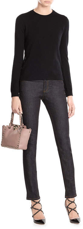Valentino Cashmere Pullover with Rockstuds