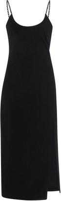 Cushnie Crystal-Embellished Stretch-Crepe Midi Dress