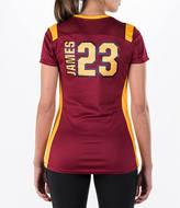 Majestic Women's Cleveland Cavaliers NBA LeBron James Draft Shirt