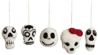 Arket Felt So Good Halloween Skulls