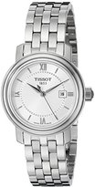 Tissot Women's Bridgeport Quartz Silver Dial Silver Stainless Steel Watch