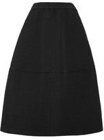 Co Matelassé Midi Skirt - Black