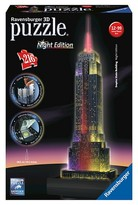 Ravensburger Empire State Building - Night Edition - 3D Puzzle (216 Piece)