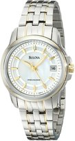 Bulova Women's Precisionist Dial Watch Mother-Of-Pearl 98M112