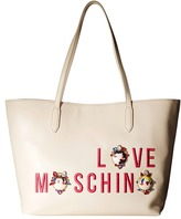 Love Moschino Charming Girls Tote Tote Handbags