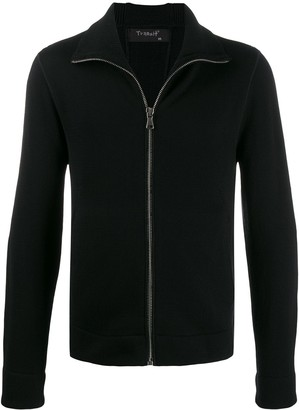 Transit Slim-Fit Zip-Up Cardigan
