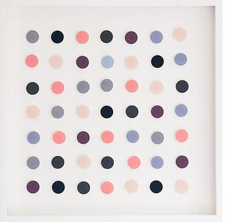 Dawn Wolfe Design Dawn Wolfe - Pink & Navy Dot Collage