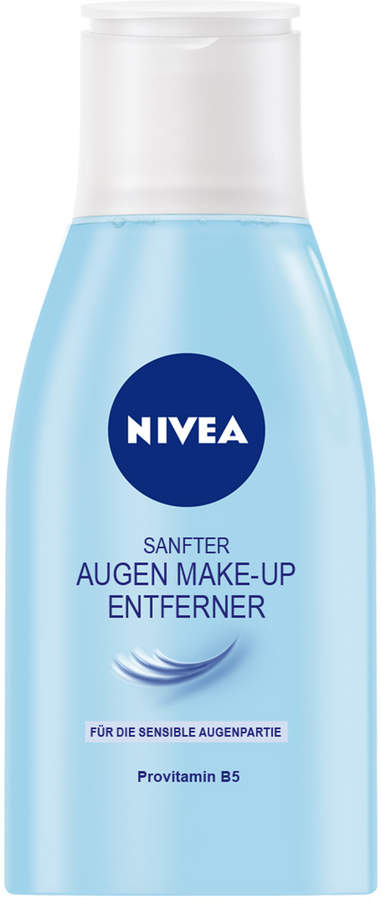Nivea Gentle Eye Make-Up Remover by 125ml Cleanser)