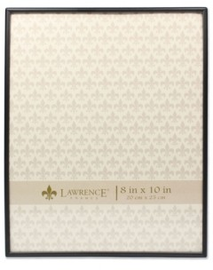 """Lawrence Frames Simply Black Picture Frame - 8"""" x 10"""""""
