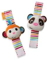 Infantino Wrist RattlesTM in Panda/Monkey