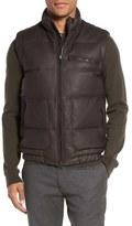 Vince Down Filled Lambskin Leather Vest