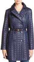 Kate Spade Bow Quilted Trenchcoat