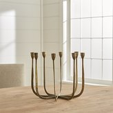Crate & Barrel Milada Centerpiece Taper Candle Holder