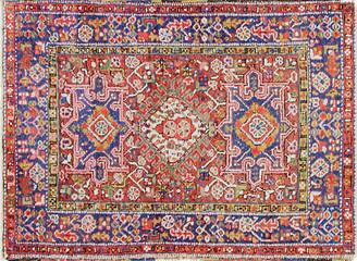 """One Kings Lane Vintage Antique Persian Karajeh Rug - 3'2"""" x 4'5"""" - Eli Peer Oriental Rugs - rusty red/multi"""