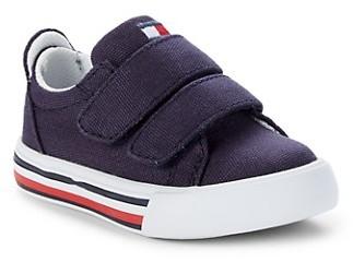 Tommy Hilfiger Baby Boy's Little Boy's Logo Striped Sneakers