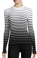 Milly Degrade Stripe Pullover