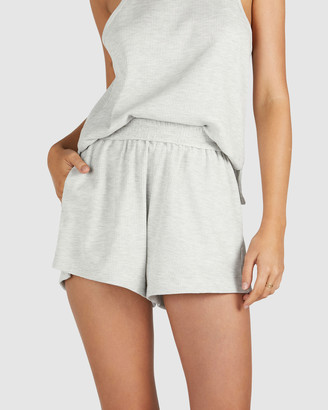 Chosen By Tuchuzy - Women's Grey Shorts - Waffle Short - Size One Size, XS at The Iconic