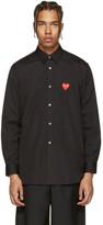 Comme des Garcons Black Heart Patch Shirt