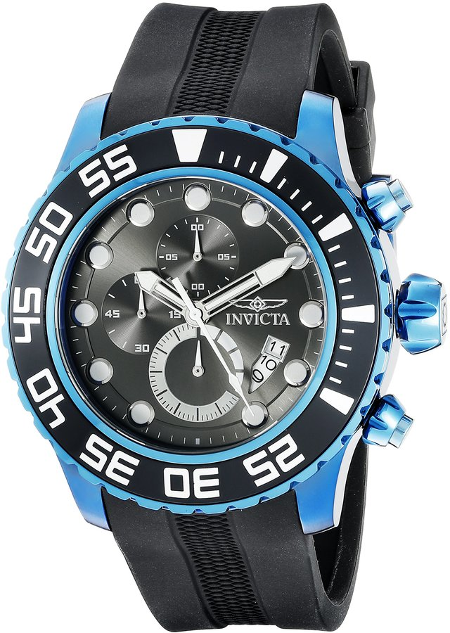 Invicta Men's 19249SYB Pro Diver Analog Display Quartz Watch
