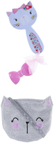 Accessorize Cat Bag Hairbrush & Mirror Set