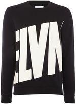 Eleven Paris Men's Rinco logo print crew neck sweatshirt