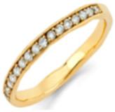 Logan Hollowell - Diamond Channel Set Stacking Ring