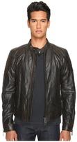 Belstaff Outlaw Lightweight Hand Waxed Leather Jacket Men's Coat