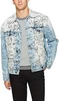 GUESS Men's Oversized Denim Jacket