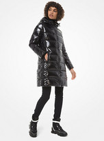 Michael Kors Quilted Nylon Puffer Coat
