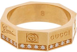 Gucci 18K Diamond Otto Ring