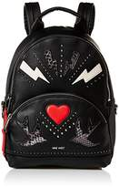 Nine West Taren Heart and Blots Fashion Backpack