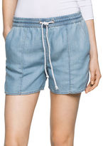 CK Calvin Klein Four-Pocket Denim Shorts