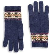 Ralph Lauren Girl's Fair Isle Gloves