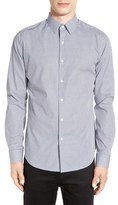 Theory Men's 'Sylvain' Trim Fit Long Sleeve Sport Shirt