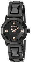 Nixon Women's A339957 Mini B SS Analog Display Japanese Quartz Black Watch