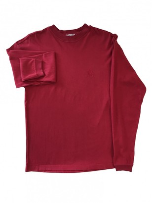 Versace Red Cotton Knitwear for Women Vintage