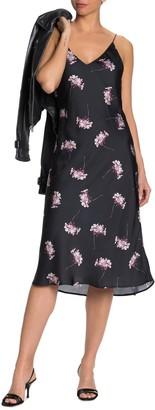 Paige Aja Floral Printed Dress