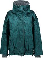 adidas by Stella McCartney Satin-jacquard coat