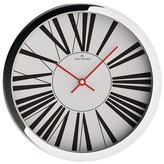 "Oliver Hemming Wall Clock with Modern Roman Numeral Dial (12"")"