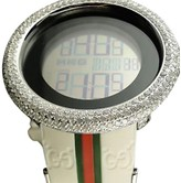 Gucci Digital 11 Ct White Diamond Watch