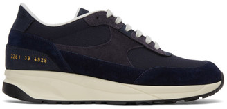 Common Projects Navy Track Classic Sneakers